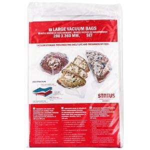 HGΟ705012-Σακούλες vacuum τροφίμων Status 623025 28Χ36cm 100τεμ | Online 4U