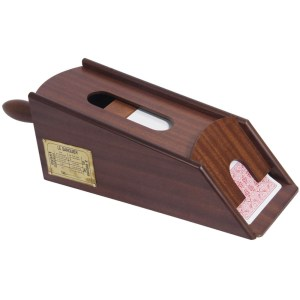 EDE908004-EDE908004-Ξύλινο σαμπό για 6 τράπουλες Mogano 50926R | Online 4U Shop