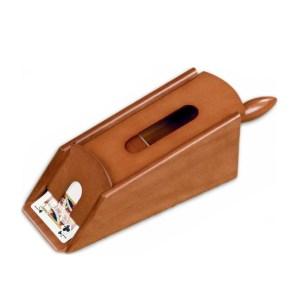 EDE908004-Ξύλινο σαμπό για 6 τράπουλες Mogano 50926R | Online 4U Shop