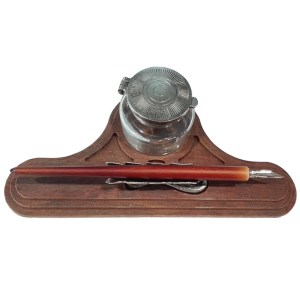 EDA751086-Σετ γραφής απομίμηση μαόνι Francesco Rubinato 7657   Online 4U Shop