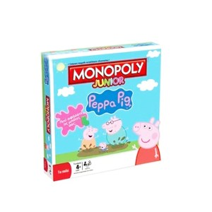 EDE207006-Επιτραπέζιο Hasbro MONOPOLY Junior Peppa Pig | Online 4U Shop