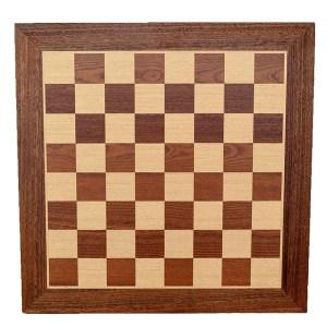EDE854043-Σκακιέρα Χειροποίητη Μαόνι-Δρυς WB50M Μanopoulos | Online 4U Shop