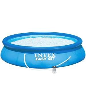 HGP552027-Πισίνα Easy Set Pool 457x107cm Intex 26166 | Online 4U Shop