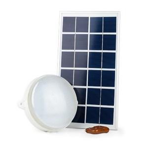 HGF250009-Ηλιακή Πλαφονιέρα με 18 LED HM21510 | Online4u Shop