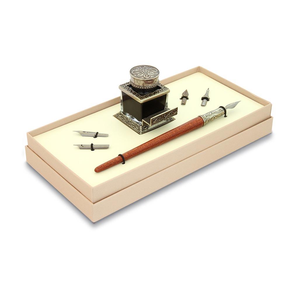 Σετ ξύλινη πένα γραφής Bortoletti SET41