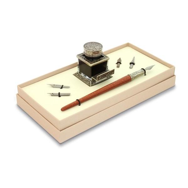 EDA751050 Σετ ξύλινη πένα γραφής Bortoletti SET41