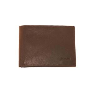 EDA757005-01 Πορτοφόλι δερμάτινο ανδρικό καφέ Marvel-46700406