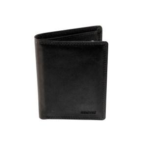 EDA757023-01 Πορτοφόλι δερμάτινο ανδρικό μαύρο Marvel 49780010