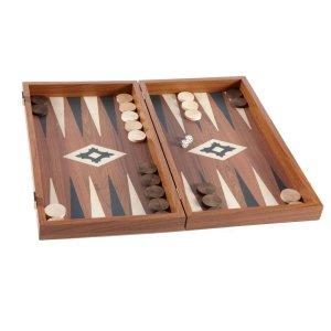 EDE900001 Χειροποίητο τάβλι - Απομίμηση από ξύλο καρυδιάς