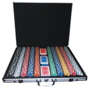 EDE905002-Βαλίτσα αλουμινίου 1000 μάρκες,ζάρια,τράπουλες SuperGifts700196 | Online4u