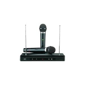 EDG300002 Συσκευή για Karaoke με δύο ασύρματα μικρόφωνα wireless AT-306