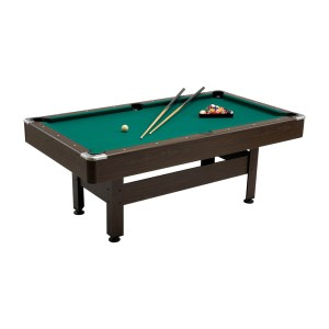 EXB057002-01 Τραπέζι μπιλιάρδου Virginia 6 Garlando 180 x 90 cm