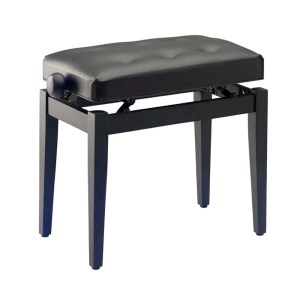 EXM455013 Ρυθμιζόμενο κάθισμα πιάνου Stagg PB43 BKM SBK