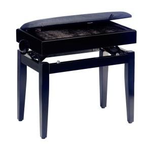 EXM455024 Ρυθμιζόμενο κάθισμα πιάνου Stagg PB55 BKP VBK