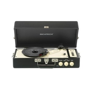 EXM750010-01 Ρετρό πικάπ Ricatech μαύρο RTT98