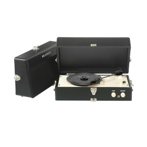 EXM750013-01 Ρετρό πικάπ Ricatech μαύρο RTT80