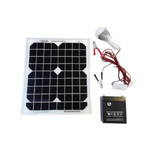 HAC850002 Αυτόνομο φωτοβολταϊκό σύστημα φωτισμού με 1 λάμπα LED