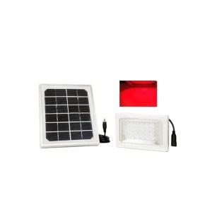 HGH309008-01 Ηλιακός προβολέας 30 LED κόκκινος / πράσινος / μπλε