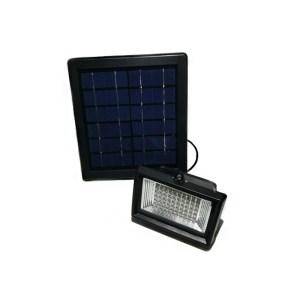 HGH309011-01 Ηλιακός προβολέας 60 λευκά LED με θερμό λευκό χρώμα και μαύρο περίβλημα HM21067 OEM