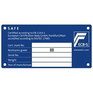 πιστοποιητικό ασφαλείας Grade III