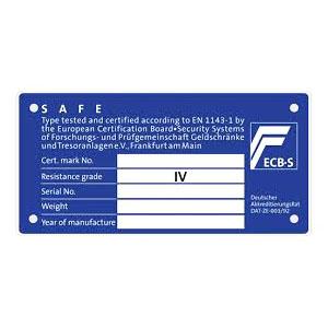 πιστοποιητικό ασφαλείας Grade IV