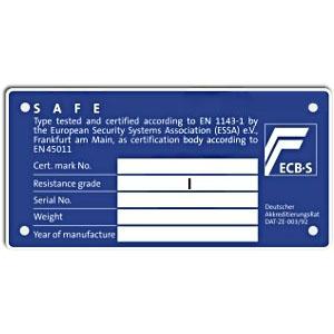 πιστοποιητικό ασφαλείας Grade I