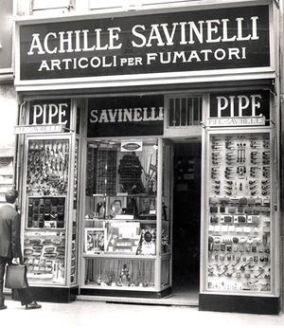 το πρώτο κατάστημα Savinelli | Online 4U