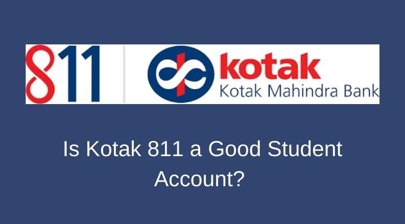 kotak 811 student account