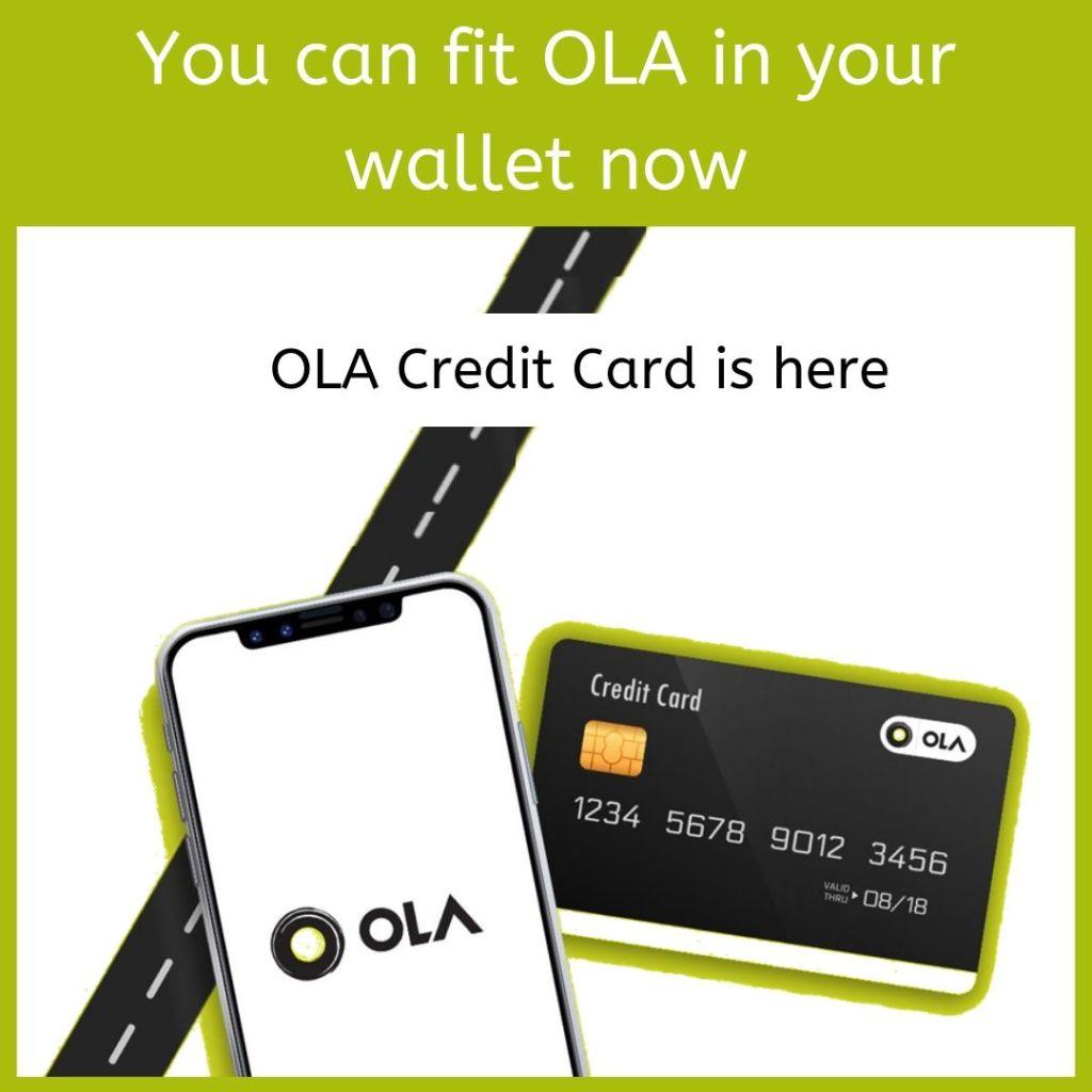Ola credit card