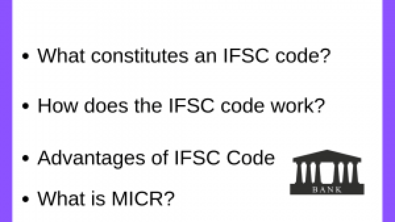 IFSC Code Checker - Compare, Apply & Get Tips for Online