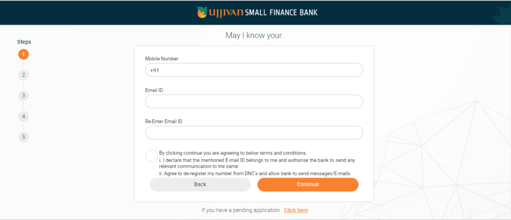 open Ujjivan Bank's Digital Account