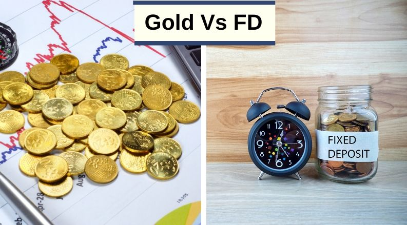 gold vs FD