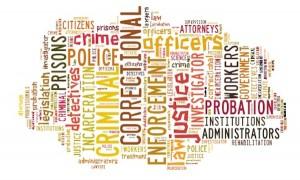 criminal justice word-cloud