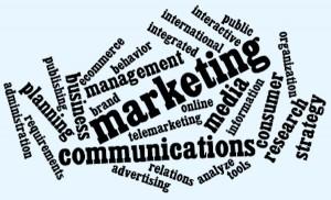 online marketing programs word-cloud