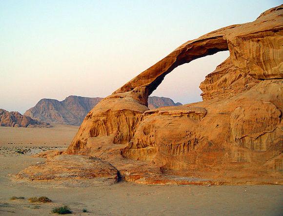 Kharaza Arch, Jordan