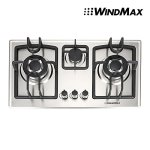 28-in-Silver-Stainless-Steel-3-Burner-Built-In-Stove-NG-Gas-Cooktop-Cooker-8350W-0