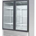 55-Inch-Glass-Two-Door-Merchandiser-Upright-Refrigerator-MCF-8707-Stainless-Steel-0