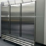 81-Freezer-Three-Locking-Doors-Commercial-Restaurant-72-Cu-Ft-304-Grade-Stainless-Steel-Digital-Control-9-Shelves-5-Year-Compressor-Warranty-CFD-3FF-0-0