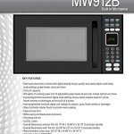 Advent-MW912B-Black-Built-in-Microwave-Oven-specially-built-for-RV-Recreational-Vehicle-Trailer-Camper-Motor-Home-Boat-etc-09-cuft-capacity-900-watts-of-cooking-power-and-10-adjustable-power-levels-le-0-0