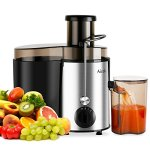 Aicok-Juicer-Juice-Extractor-High-Speed-for-Fruit-and-Vegetables-Dual-Speed-Setting-Centrifugal-Fruit-Machine-Powerful-400-Watt-with-Juice-Jug-and-Cleaning-Brush-Premium-Food-Grade-Stainless-Steel-0