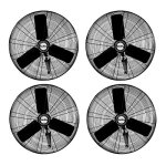 Air-King-24-14-HP-High-3-Speed-Industrial-Oscillating-Wall-Mount-Fan-4-Pack-0