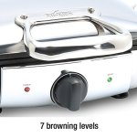 All-Clad-99011GT-Stainless-Steel-Belgian-Waffle-Maker-with-7-Browning-Settings-0-0