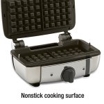 All-Clad-99011GT-Stainless-Steel-Belgian-Waffle-Maker-with-7-Browning-Settings-0-1