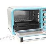 Americana-ERO-2600BL-Americana-Collection-Retro-6-Slice12-Pizza-Toaster-oven-Blue-Blue-0-0