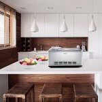 Ariete–DeLonghi-Stainless-Steel-Ice-Cream-Maker-with-Built-in-Compressor-LCD-Digital-Display-21-Quart-0-2