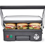 BELLA-4-in-1-Contact-Grill-Griddle-and-Panini-Maker-Combo-Stainless-Steel-and-Black-14464-0