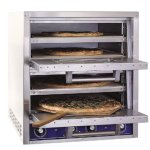 Bakers-Pride-P44-S-Countertop-Electric-Pizza-Oven-Double-Oven-Standard-Hearth-0