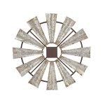 Benzara-Metal-Wall-Sculptures-Bm118808-Benzara-Farmhouse-Styled-Windmill-Wall-Decor-Small-30-X-30-X-1-Inches-Black-0