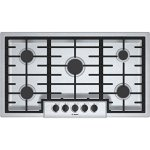 Bosch-NGM5655UC500-36-Stainless-Steel-Gas-Sealed-Burner-Cooktop-0