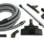 Cen-Tec-Systems-91442-Complete-Home-Central-Vacuum-Accessory-Kit-with-Chrome-Telescopic-Wand-0